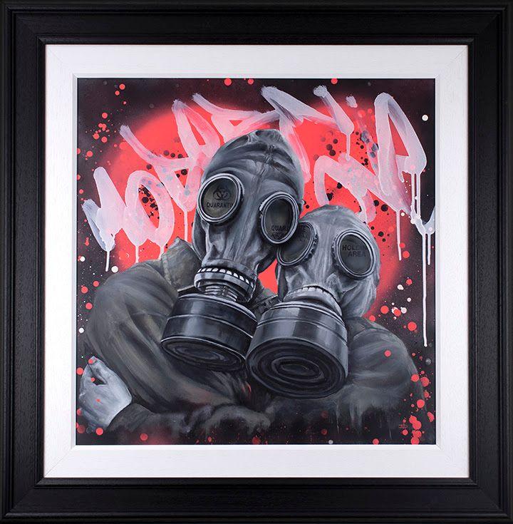 Modern Love  - Framed by Dean Martin *Mad Artist