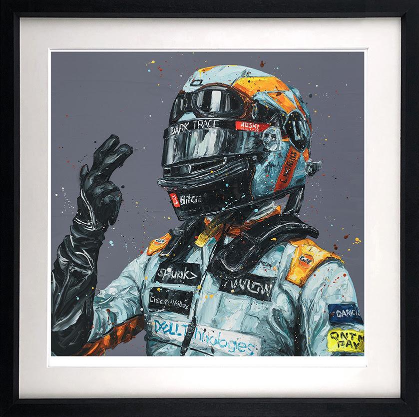 Monaco Lando - Black - Framed by Paul Oz