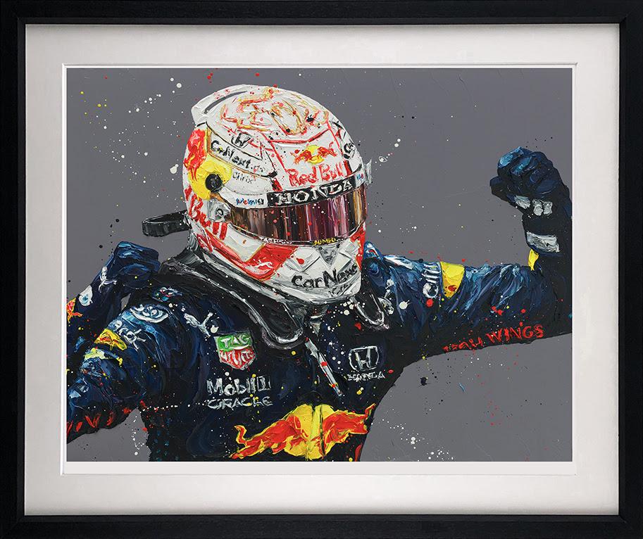 Monaco Max - Black - Framed by Paul Oz