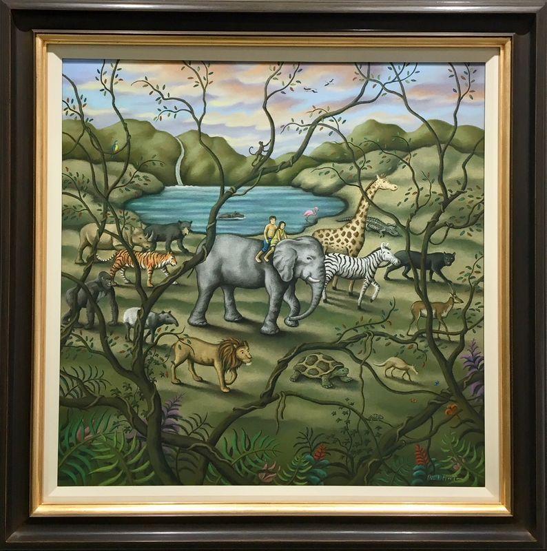 Mother Earth - Original - Framed by Paul Horton