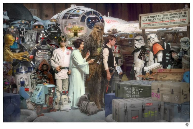 Move Along - Star Wars by JJ Adams