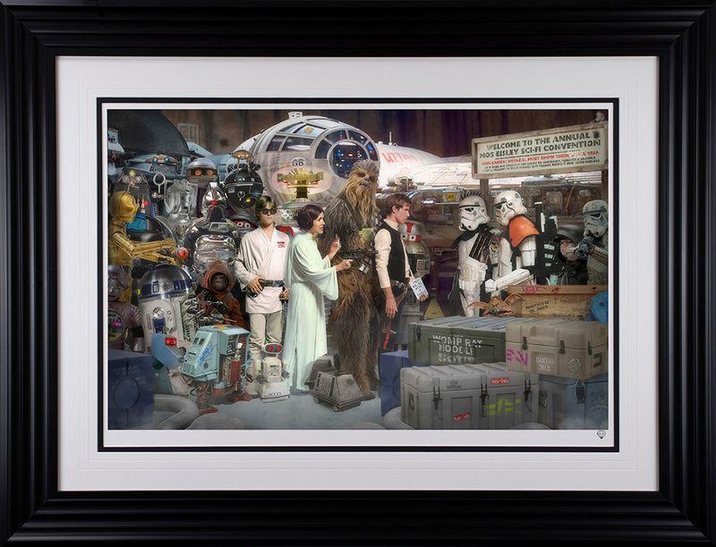 Move Along - Star Wars - Framed by JJ Adams