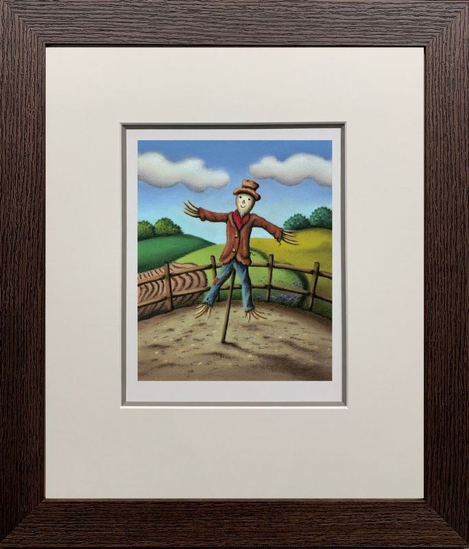 Mr. Scarecrow - Framed by Paul Horton
