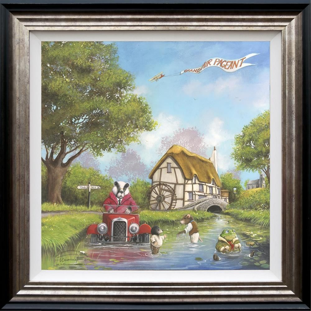 Mr Toad's Disastrous Day Out - Framed