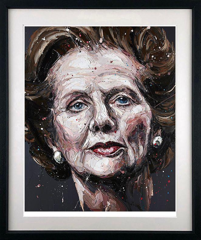 Mrs. T - Black - Framed by Paul Oz