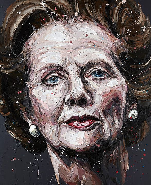 Mrs. T (Margaret Thatcher) by Paul Oz