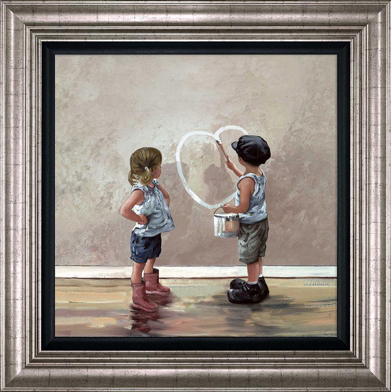 My Funny Valentine - Framed