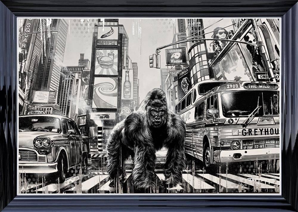 My Kingdom - Black - Framed by Ben Jeffery