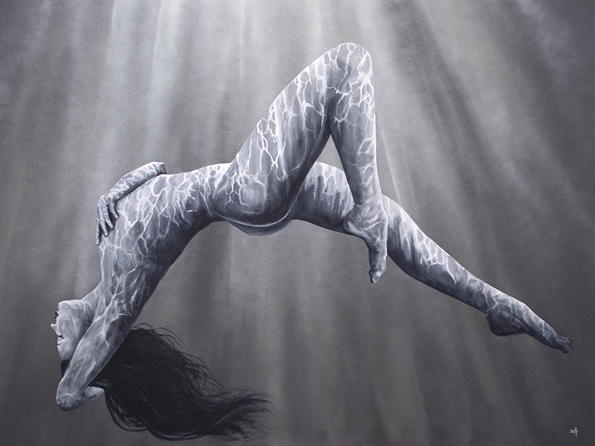 Naked Refraction  by Dean Martin *Mad Artist