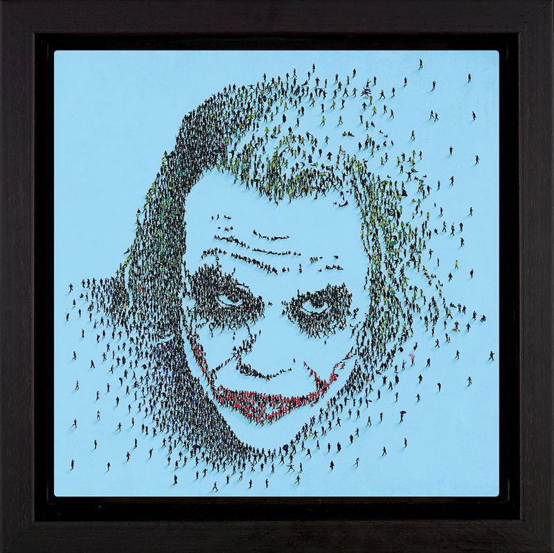 Nemesis - Framed Box Canvas by Craig Alan