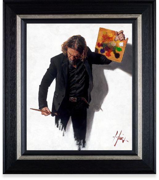 Neo-Emotionalism The New Era - Framed by Fabian Perez