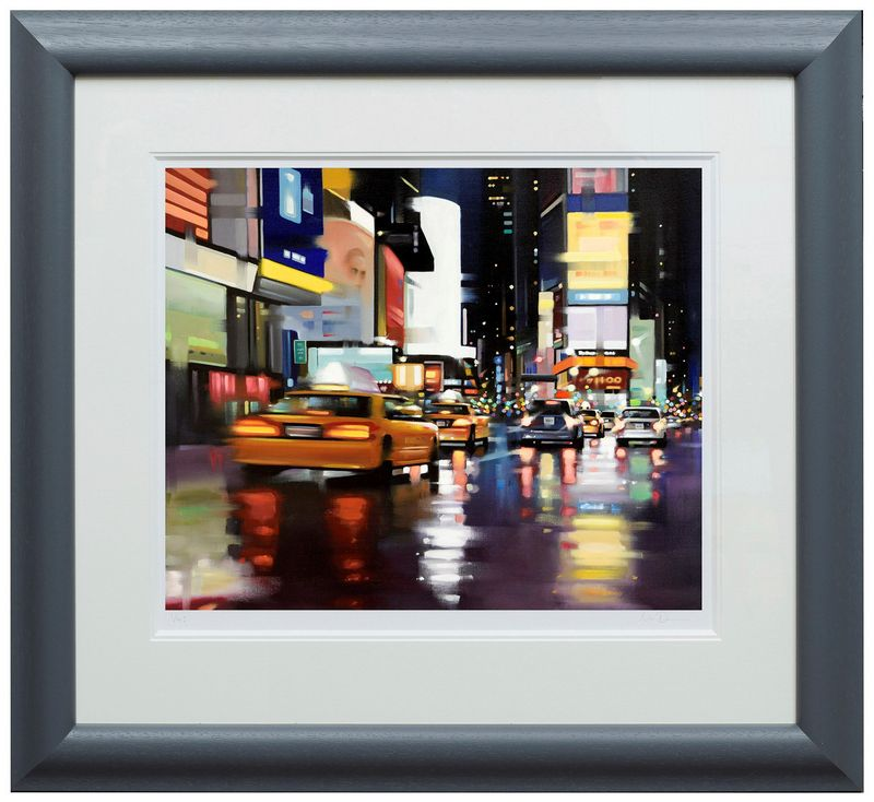 New York City Motion - Framed by Neil Dawson