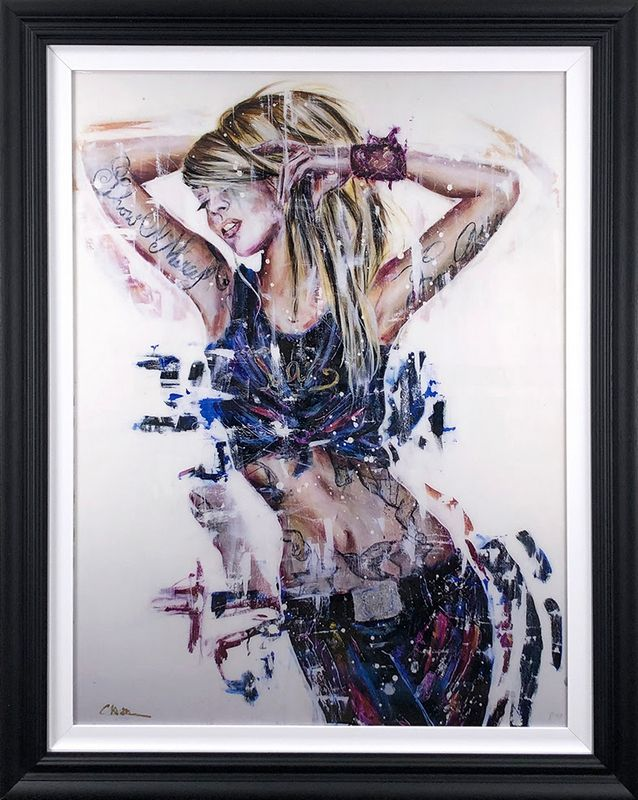 No Mercy - Black Framed by Carly Ashdown