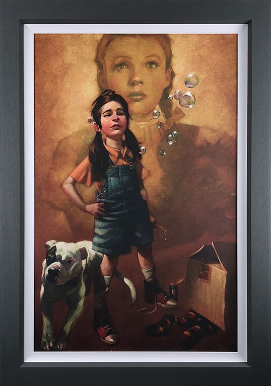 Now I Know We're Not In Kansas (Wizard of Oz) - Canvas - Framed by Craig Davison