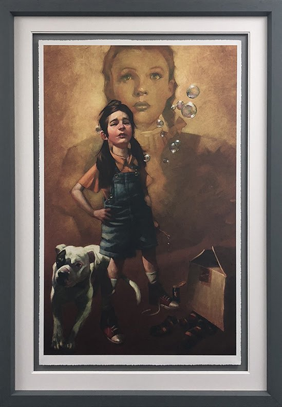 Now I Know We're Not In Kansas (Wizard of Oz) - Framed by Craig Davison