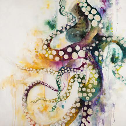 Octopus - Framed