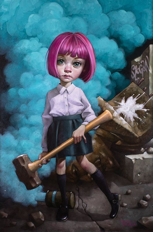 Oh, I Don't Know About Art, But I Know What I Like - Mounted by Craig Davison