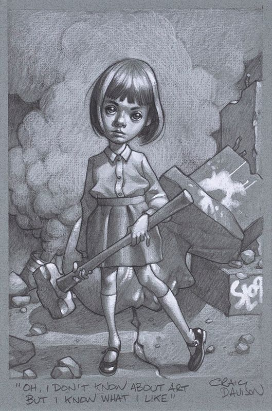 Oh, I Don't Know About Art, But I Know What I Like by Craig Davison