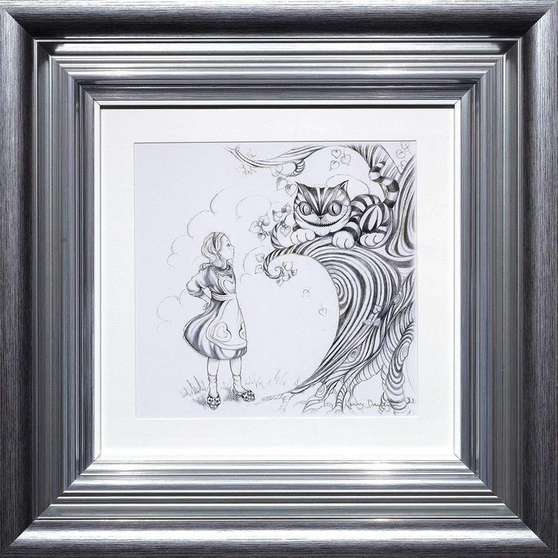 Oh My Fur And Whiskers - Sketch Edition - Framed by Kerry Darlington