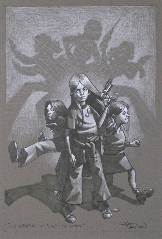 Ok Angels, Lets Get To Work by Craig Davison