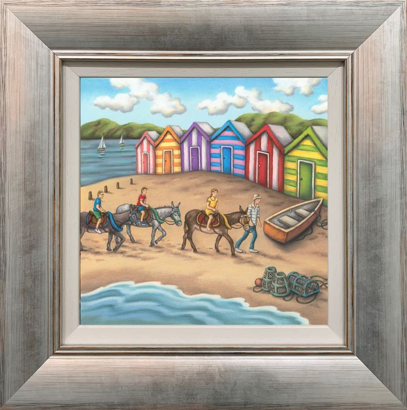 On The Beach - Framed by Paul Horton