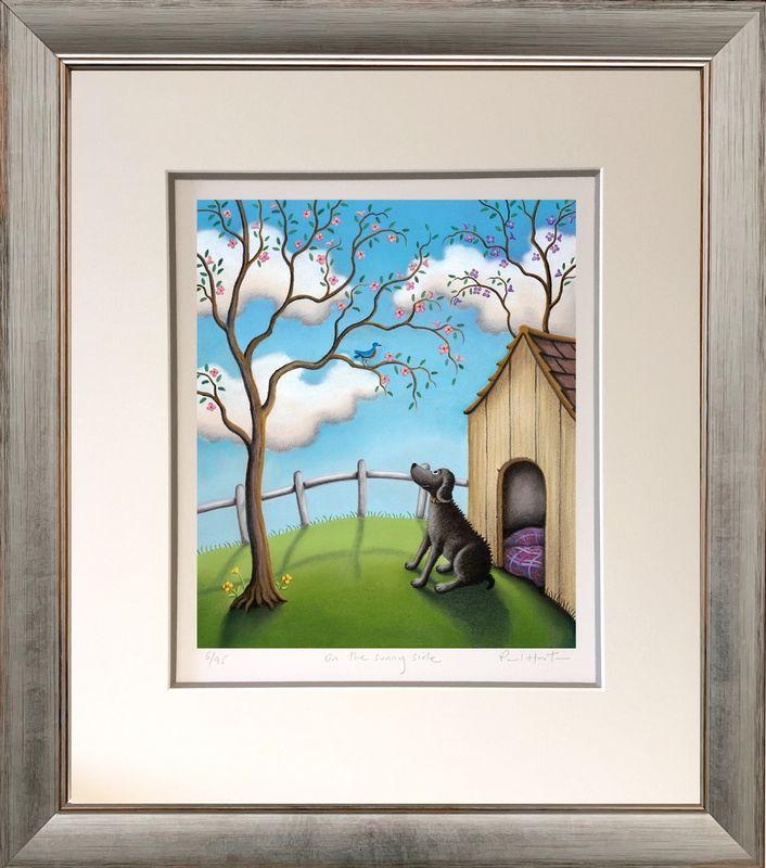 On The Sunny Side - Framed by Paul Horton