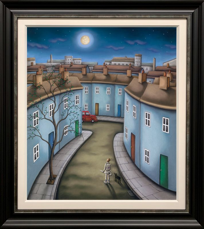 One Small Step For Man - Original - Framed by Paul Horton