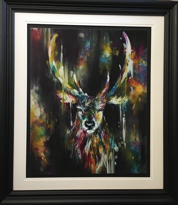 Optic II - Framed by Katy Jade Dobson