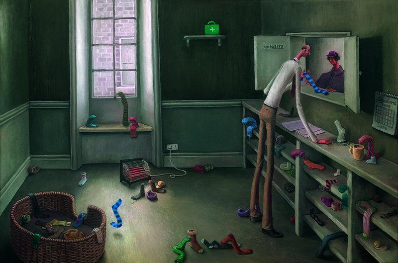 Orphan Socks by Sarah Jane Szikora