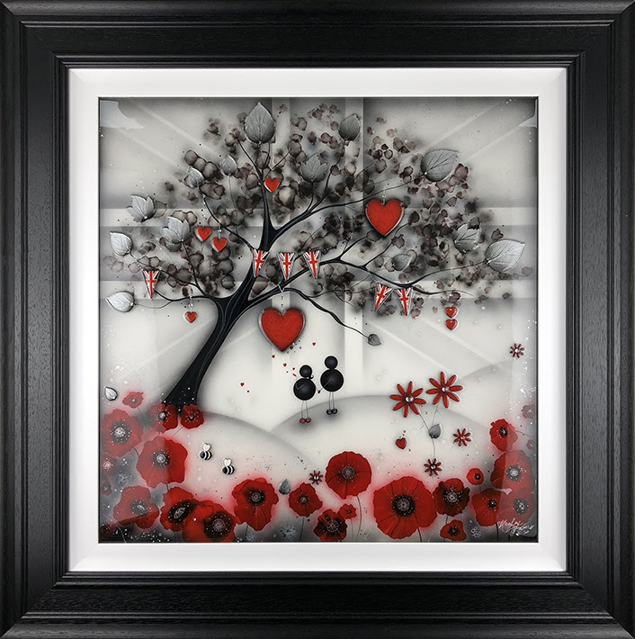 Our Remembrance Tree 2018 - Framed
