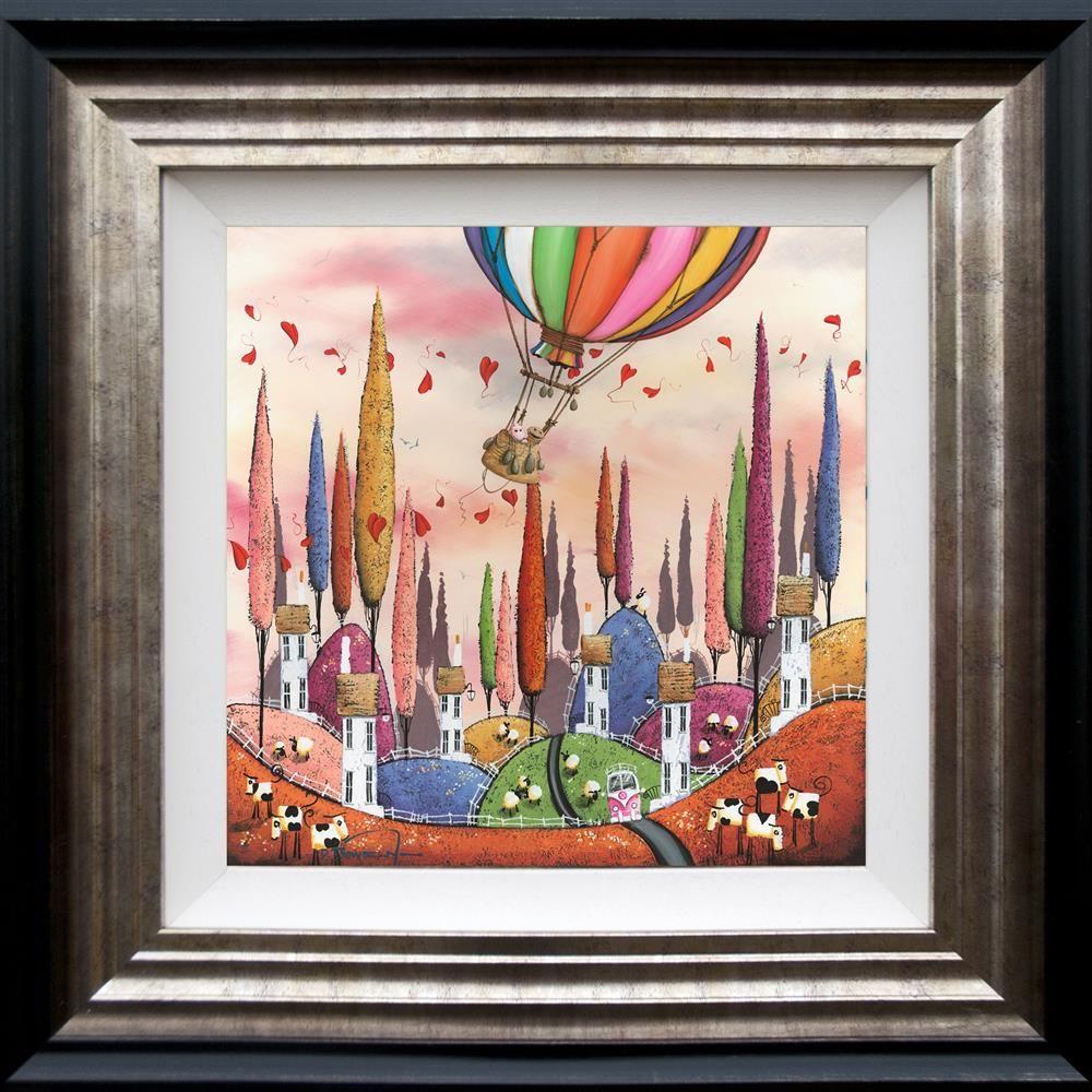 Over The Rainbow - 3D High Gloss - Framed by Dale Bowen