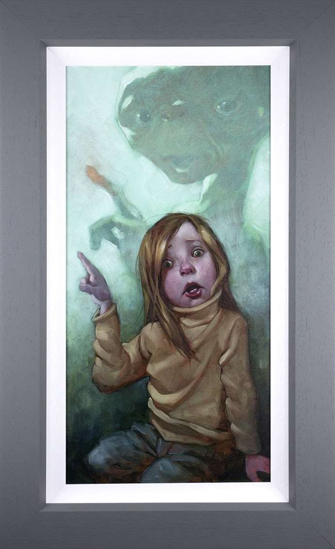 Owwwch - Canvas - Framed by Craig Davison
