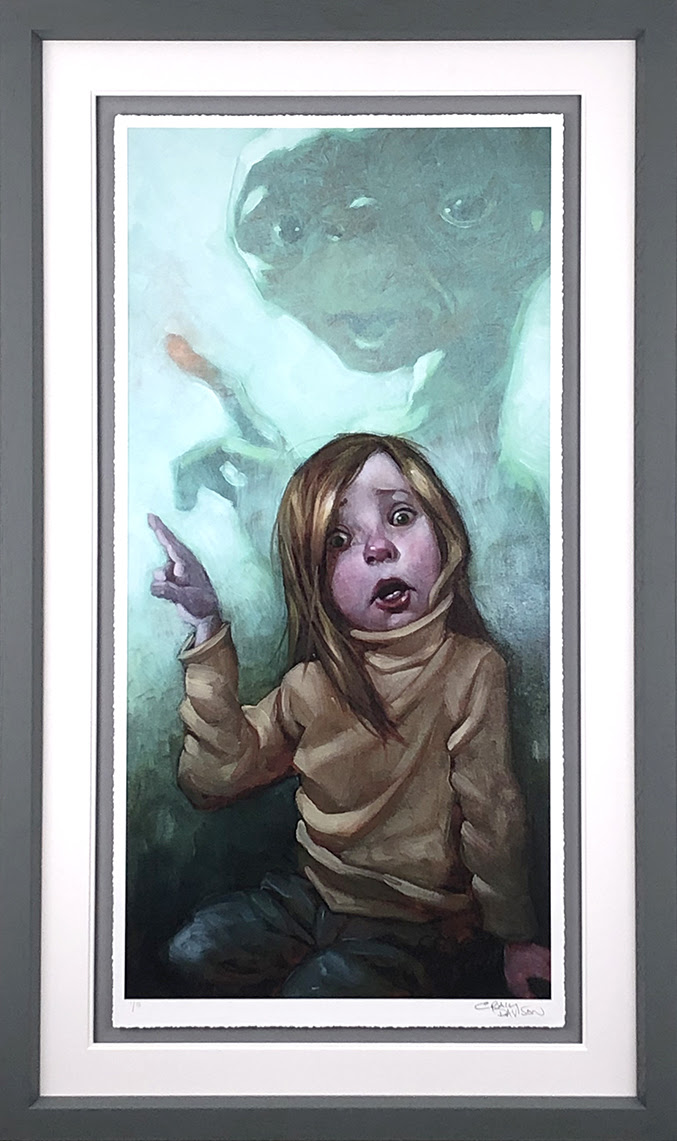 Owwwch - Framed by Craig Davison