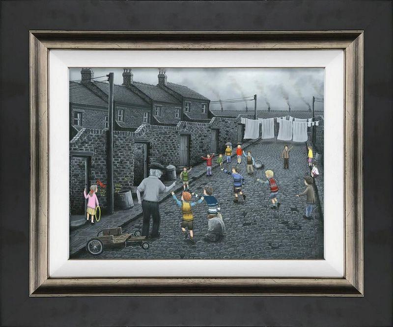 Owzat! - Canvas - Framed by Leigh Lambert