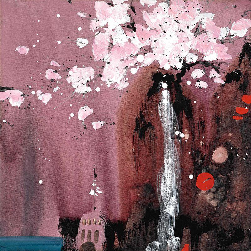 Painted Dreams I - Box Canvas