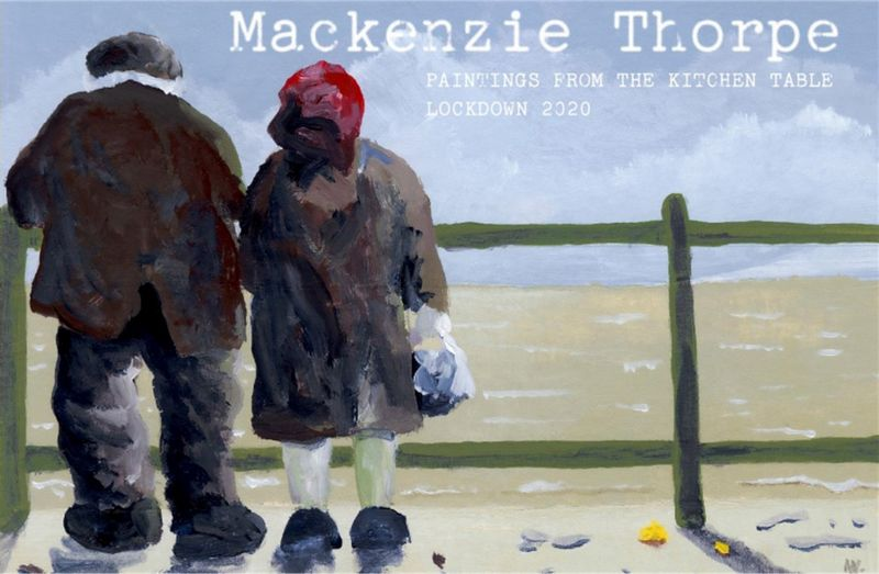 Paintings From The Kitchen Table  - Book by Mackenzie Thorpe