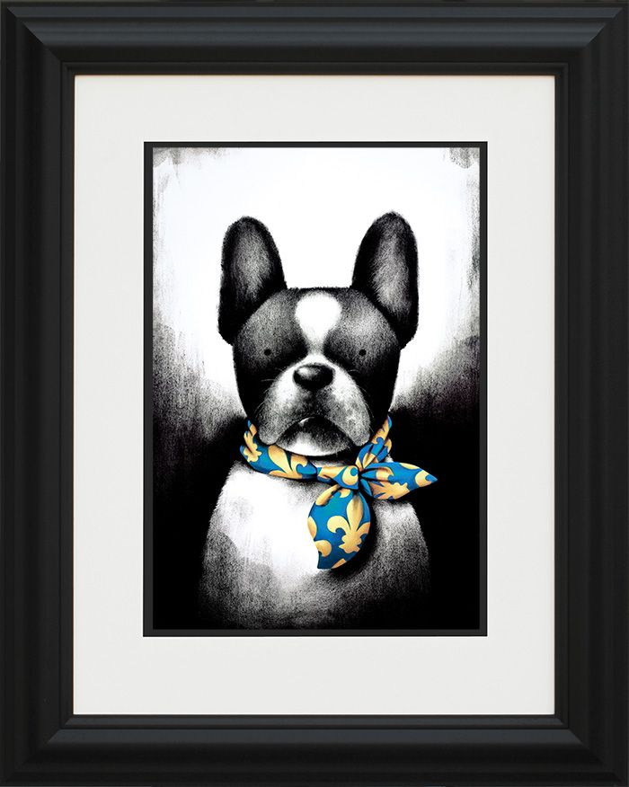 Parisian Chic - Framed by Doug Hyde
