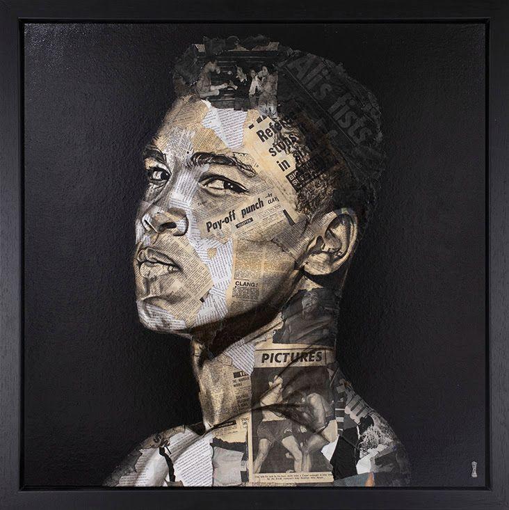Pay Off - Muhammad Ali - Original - Black - Framed by Chess
