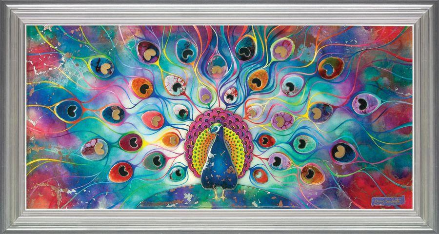 Peacock Splendour by Kerry Darlington