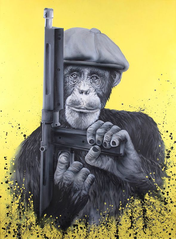 Peaky Primate by Dean Martin *Mad Artist