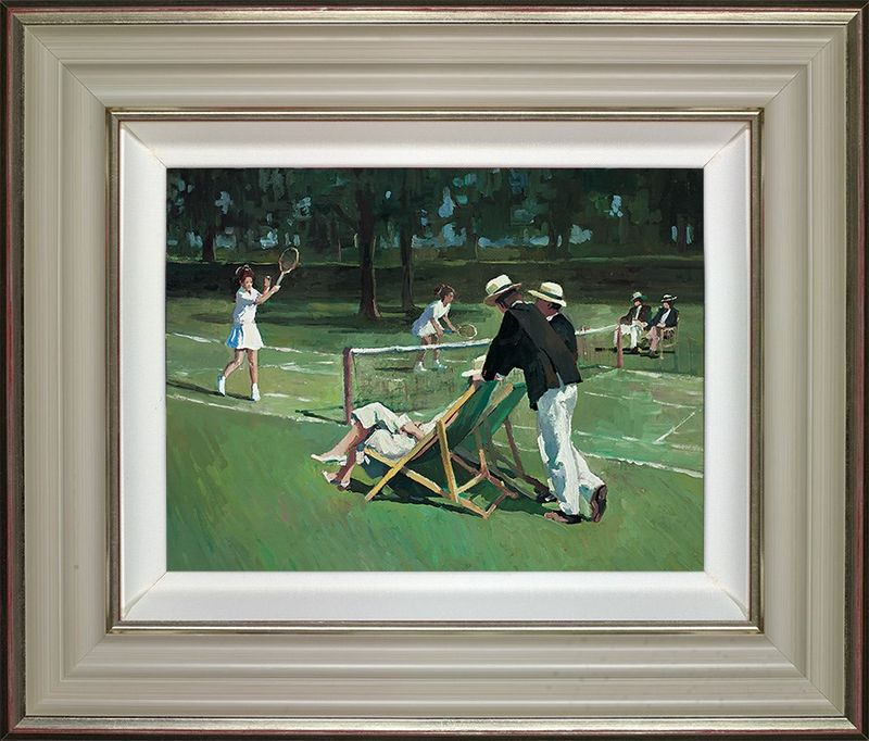 Perfect Match - Framed by Sherree Valentine Daines