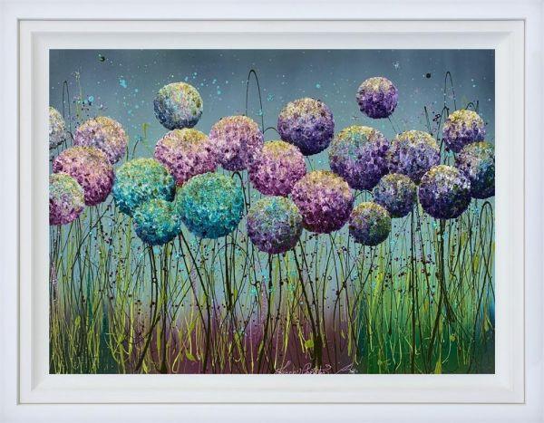Petals In Bloom - Original by Leanne Christie