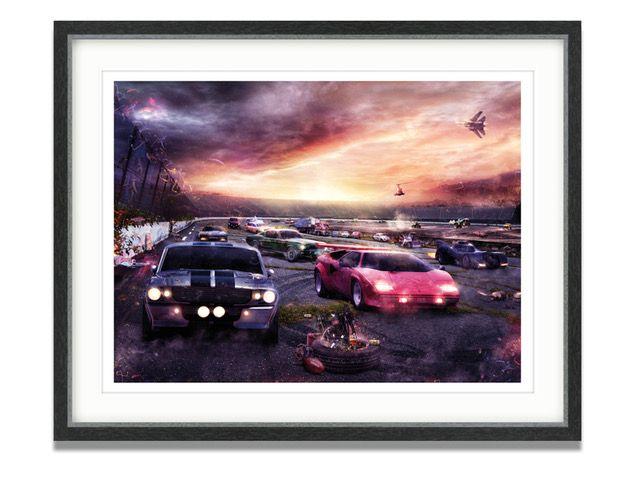 PetrolHead 2 - Large  - Framed by Mark Davies