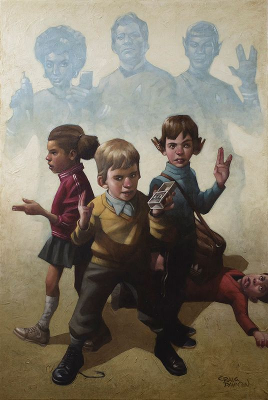 Phasers To Stun - Mounted by Craig Davison