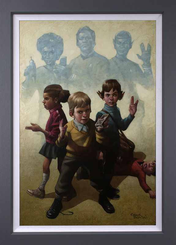 Phasers To Stun - Canvas - Framed by Craig Davison