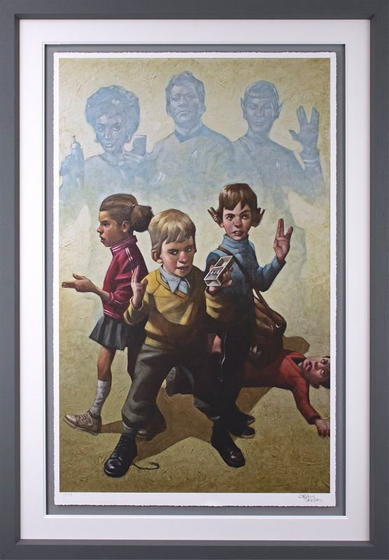 Phasers To Stun - Framed by Craig Davison
