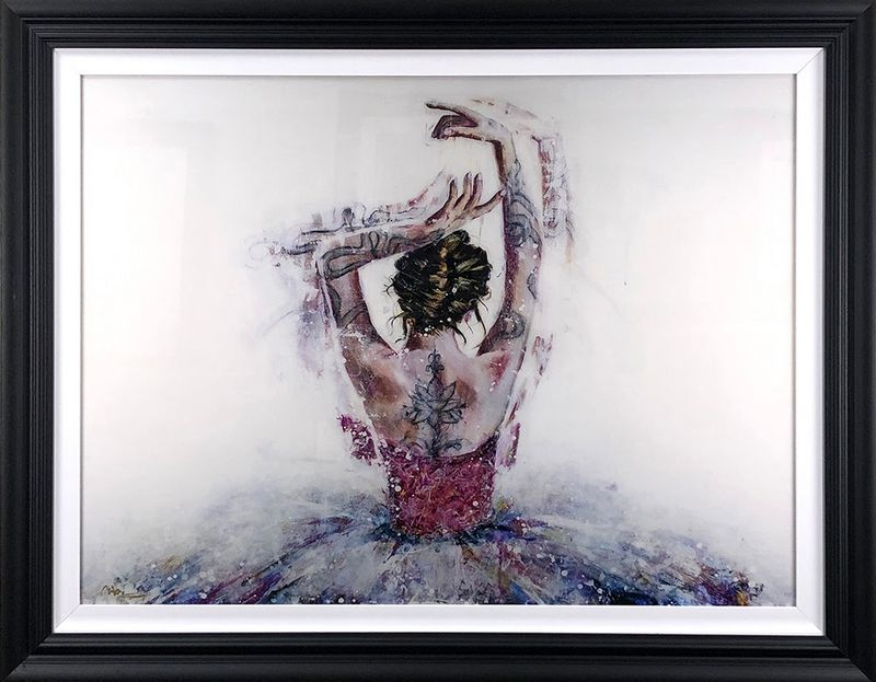 Phoenix - Black Framed by Carly Ashdown