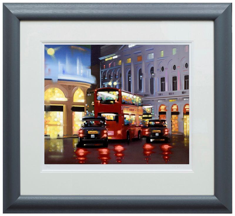 Piccadilly Night Adventure - Framed by Neil Dawson