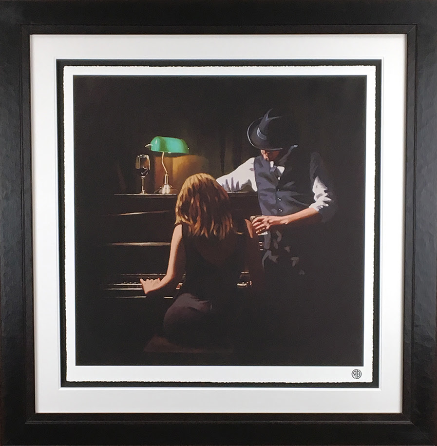 Play It Again - Paper - Framed by Richard Blunt