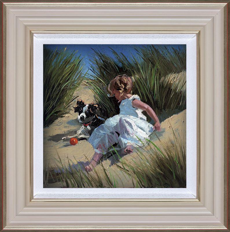 Playmates - Framed by Sherree Valentine Daines